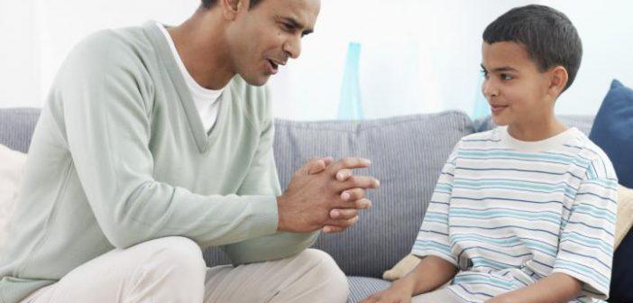 كيفية تاقلم الاب مع عالم الطفل