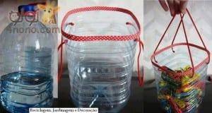 افكار مـن العبوات البلاستيك والمعدنية
