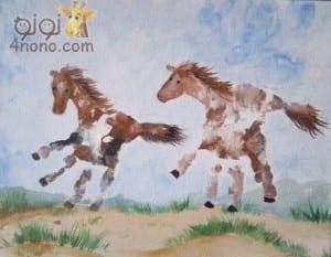 طباعه الالوان بكف اليد طريقه سيحبها طفلك جدا للتلوين والرسم وممتعه جدا له