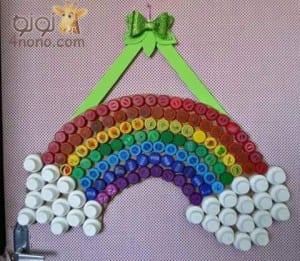 العاب من اغطية الزجاجات البلاستيك و أفكار مسلية لأطفالك