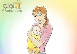 حمل الطفل الرضيع بالطرق الصحيحة بالصور