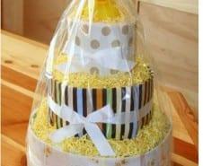 تورتة البامبرز فكرة هدية للمولود الجديد بالصور