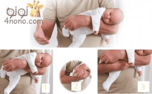 بالصور دلكى طفلك لعلاج المغص عند الرضع
