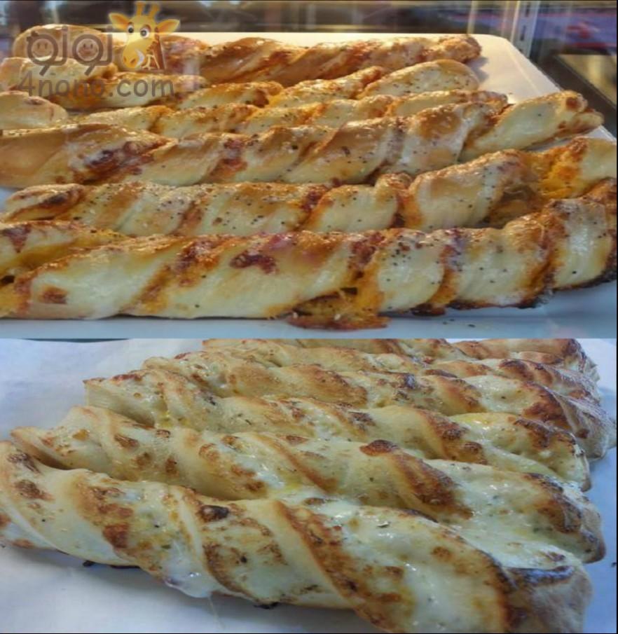 Photo of اصابع البيتزا تويستي وجبة مدرسية تحفة وبالخطوات مصورة