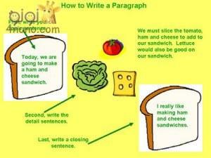 خطوات كتابة براجراف the paragraph بسهولة