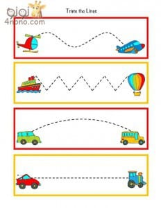 تدريب الطفل على الكتابة من عمر 3 سنوات جاهزة للطباعة دروس تعليمية فورنونو