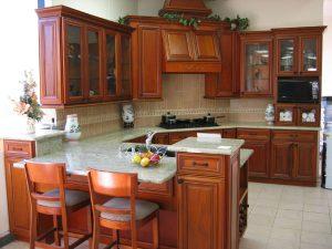 تنظيف المطبخ الالوميتال و الخشب بخلطات فعالة