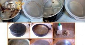 طرق تنظيف الاواني المنزلية بسهولة