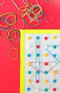 تنمية مهارات الاطفال قبل المدرسة بنشاط اللوحة الجغرافية