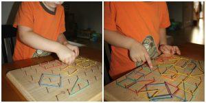 فكرة لتنمية المهارات قبل المدرسة بنشاط اللوحة الجغرافية