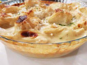 فوائد القرنبيط الصحية مع وصفة قرنبيط بصوص الجبنة للشيف سالي فؤاد