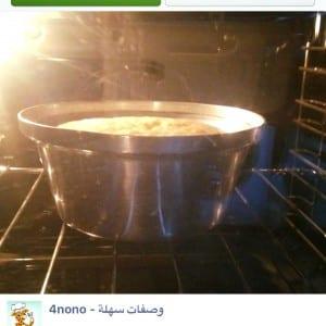 كيكة الزبادى الهشة الذيذة من مطبخ نهير