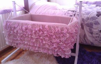 طريقة عمل سرير اطفال بالصور