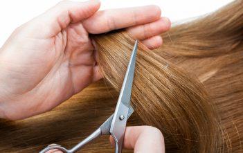فوائد قص اطراف الشعر