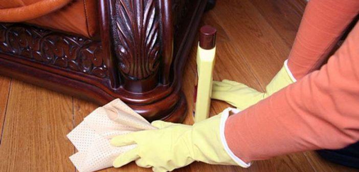 كيف تتخلصي من عفن الخشب بطرق طبيعية