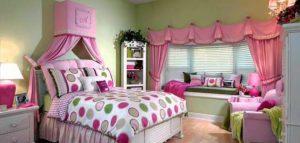 ديكورات غرف نوم لكل عروسة