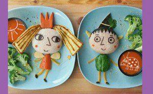 اطباق مغذية لاطفالك ومبتكرة