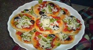 ميني بيتزا كانبيهات للشيف سالي فؤاد