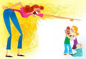 كيف يدفع الطفل ثمن غضب الام ورد فعلها العصبي ؟