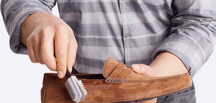 طريقة تنظيف الحذاء الشمواه والكوتشي الابيض