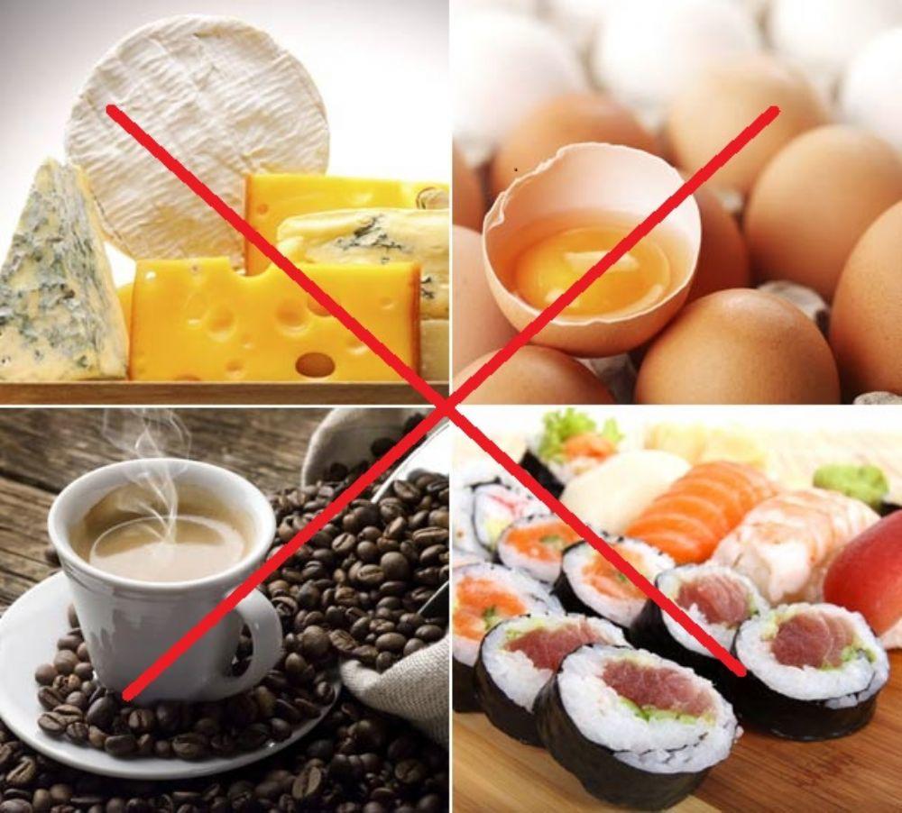 Photo of الأطعمة الممنوعة خلال الاشهر الاولى من الحمل لصحتك وصحة جنينك