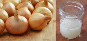 وصفات من عصير البصل للشعر مع فوائد البصل المدهشة للشعر