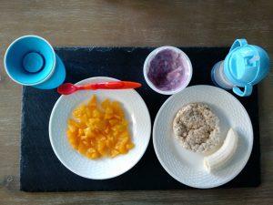 وجبات للاطفال من عمر 6 شهور إلى سنة