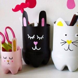 أفكار جميلة لطفلك لـ اعادة تدوير الزجاجات البلاستيك