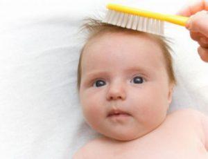 علاج الشعر الخفيف عند الاطفال