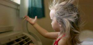 اضرار التكييف و المروحه على صحة طفلك