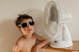 تاثير المكيفات و المروحه على صحة طفلك