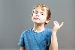Series of a Little Boy, Expressions - Arrogant Story Teller