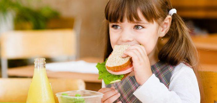 التغذية الصحية للطفل في المدرسة