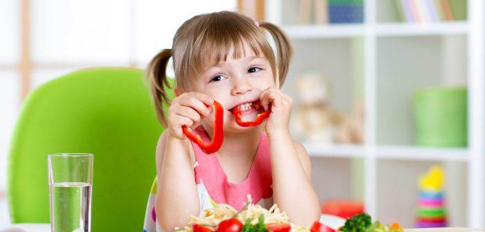 التغذية النباتية للاطفال فقط تؤثر على نموهم