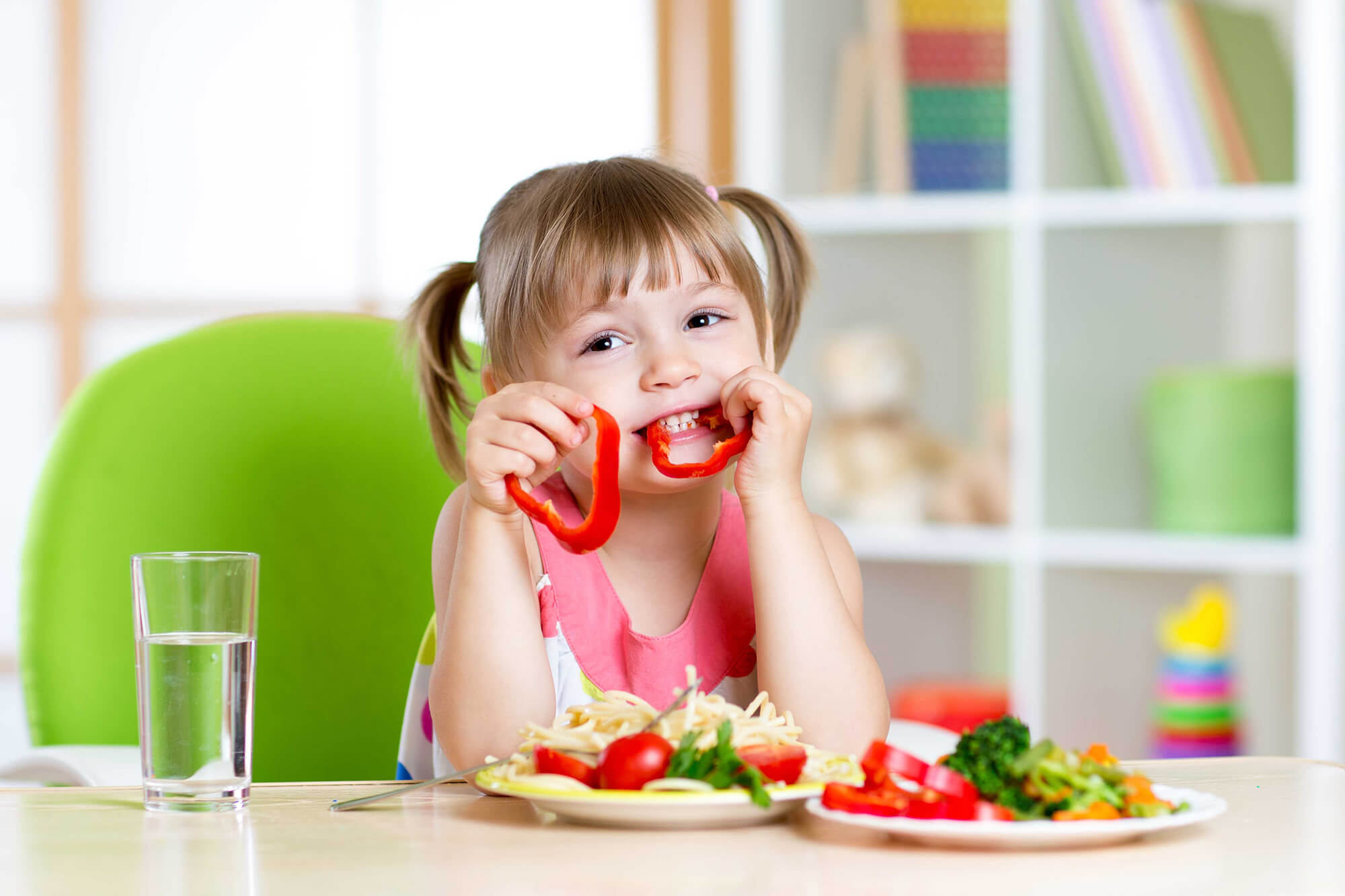Photo of التغذية النباتية للاطفال فقط تؤثر على نموهم
