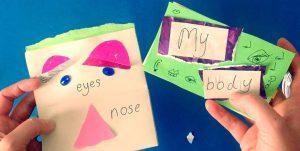 علم طفلك أجزاء الجسم والحواس الخمسة بالإنجليزية بالصور
