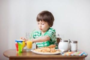 قائمة وجبات غذاء الطفل من 4 الى 6 سنوات