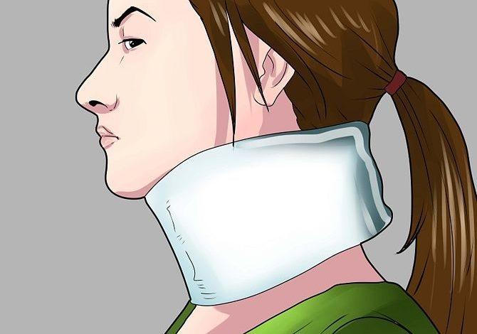 اسعافات اولية لتصلب الرقبة أو إلتواءها