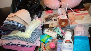 استعدادات يوم الولادة وتجهيز شنطة النونو