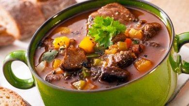 Photo of طريقة عمل طاجن اللحم بالخضروات