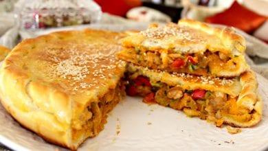 Photo of طريقة تحضير فطيرة اللحم بالخضروات