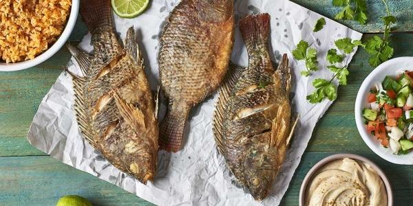 سمك بلطي بصوص الشطة لمحبى الأكل الحار